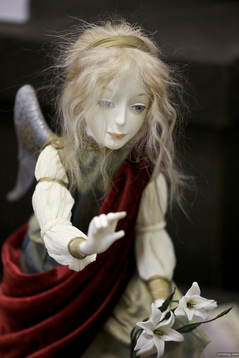 2010 13-я Международная выставка художественных кукол и мишек. Кукольная Галерея Вахтановъ в ЦДХ Москва