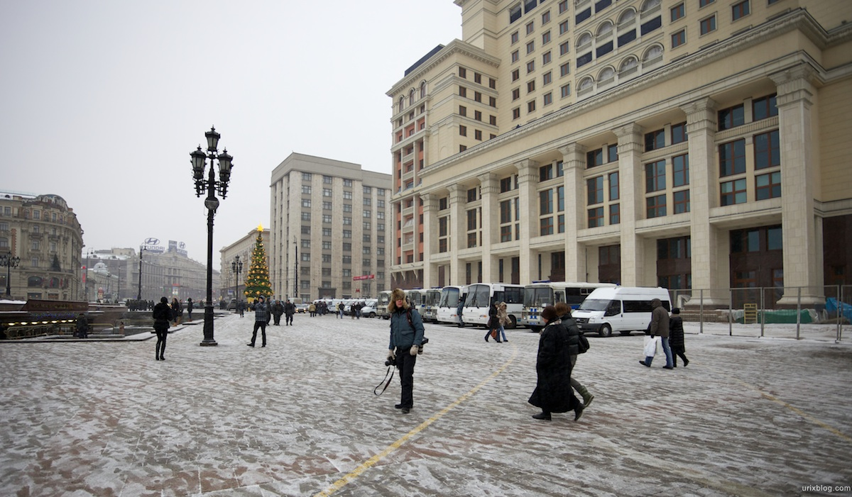 2010 Манежная площадь, Москва