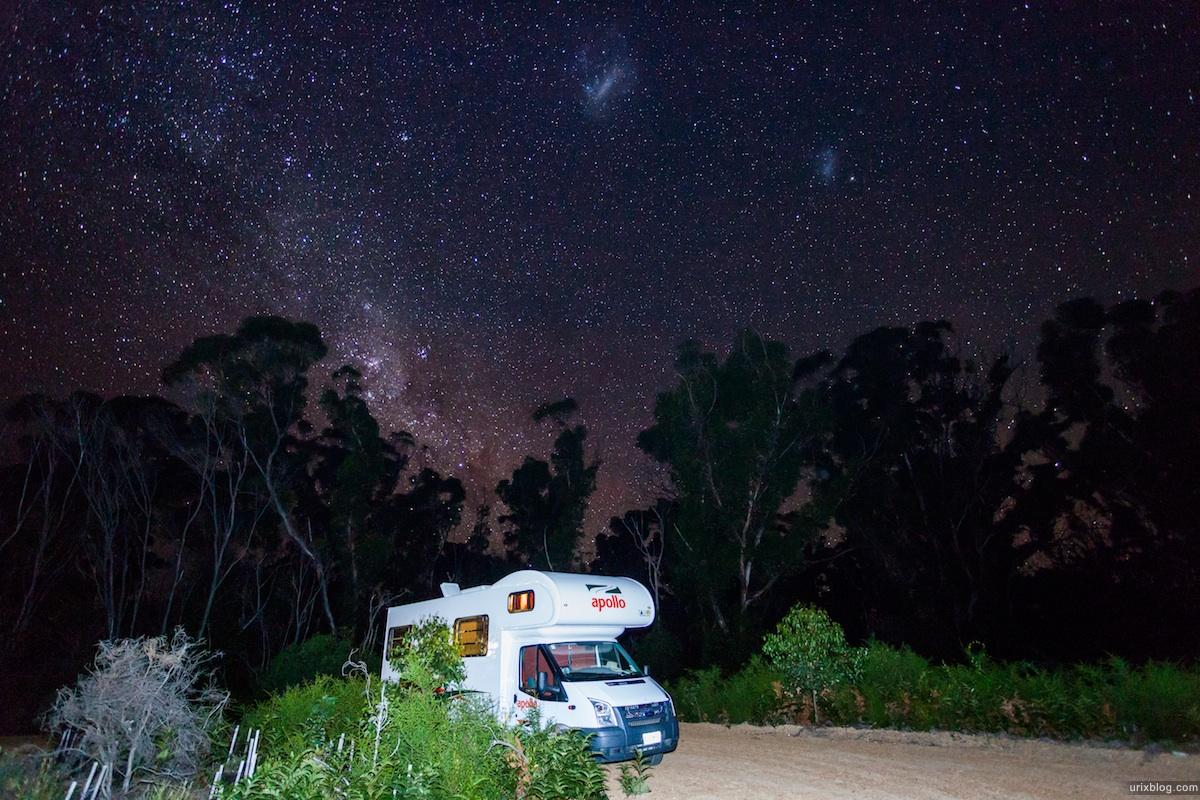 2010, Flinders Chase National Park, South Australia, night sky, stars