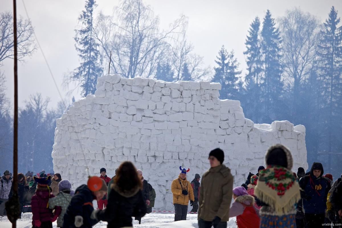 Россия Бакшевская Масляница, 2011, крепость