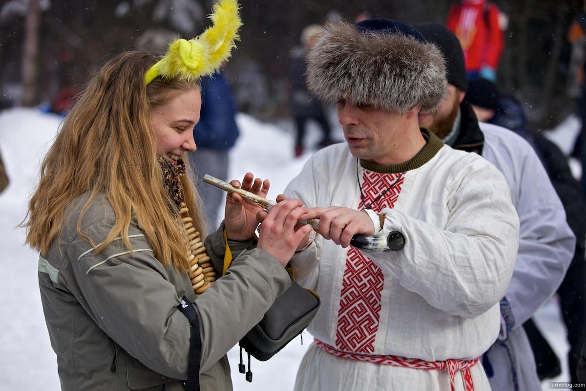 Россия Бакшевская Масляница, 2011, флейта