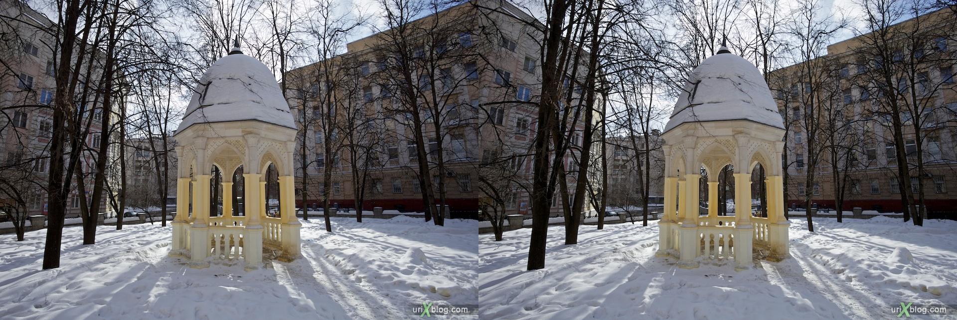 2011 stereo стерео беседка, 3D, Москва