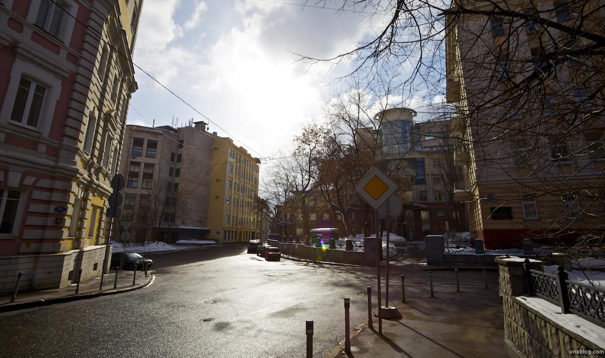2011 Вознесенский переулок + Елисеевский переулок поперёк, Москва
