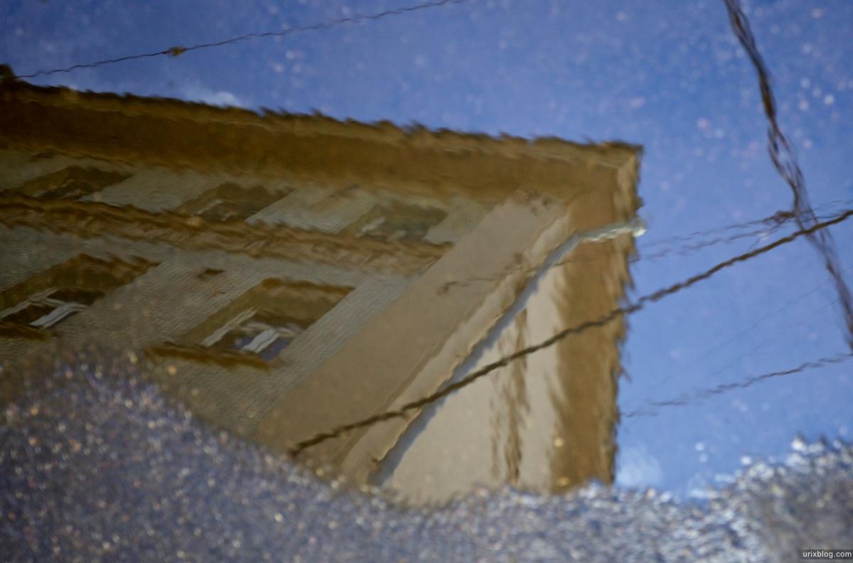 2011 лужа с отражением, Москва
