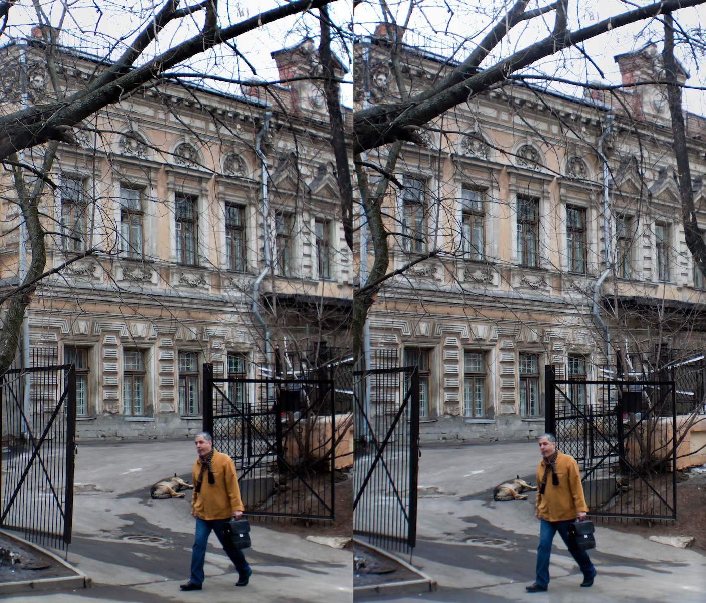 2011 стерео stereo near Elektrozavod, Электрозавод, Shot with Loreo 3D lens In A Cap and Canon 5D mark 2
