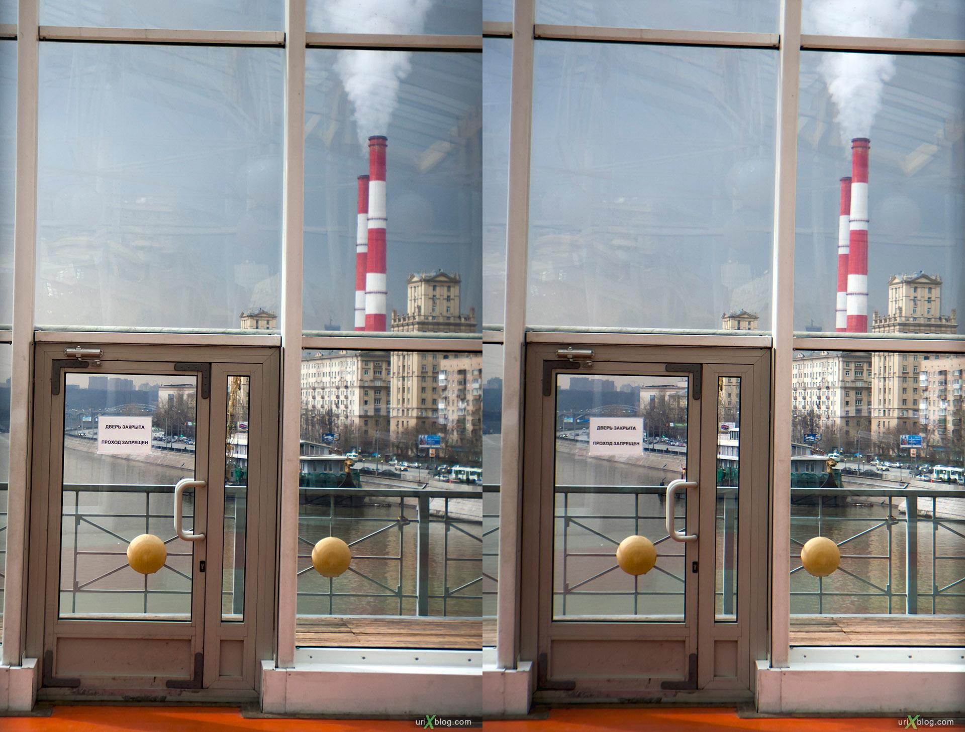 Loreo 3D lens in a cap стерео, стереопара Moscow, Kievsky Bridge, Bogdan Khmelnitskiy Bridge, Киевский мост, мост Богдана Хмельницкого, Москва, stereo, стерео, cross-eyed, 3D