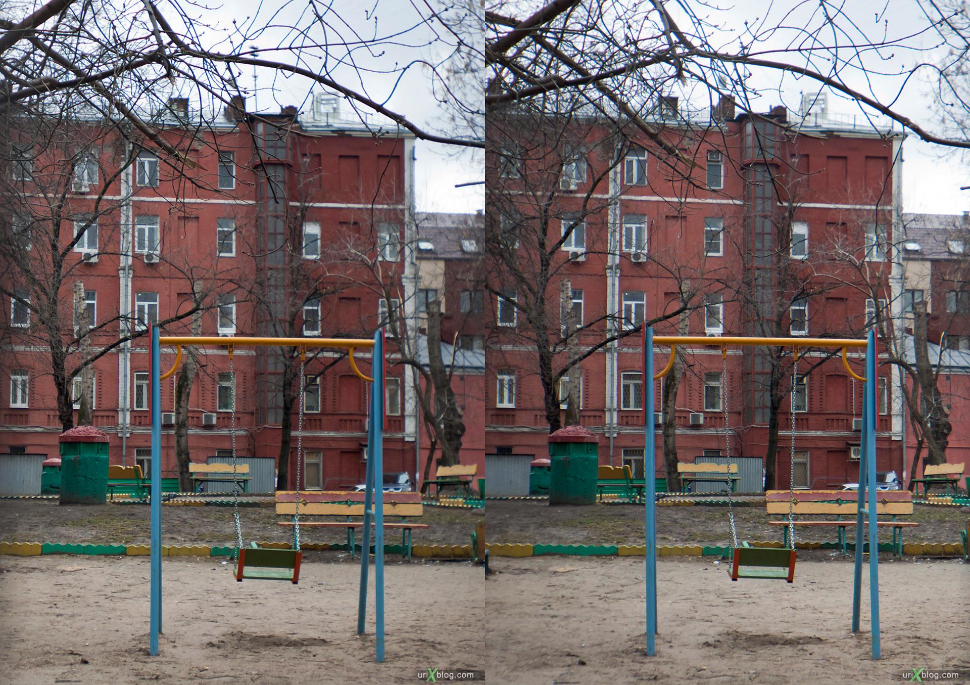 Loreo 3D lens in a cap стерео, стереопара Moscow, near the Elektrozavodskaya metro station, Москва, Электрозаводская, stereo, стерео, cross-eyed, 3D