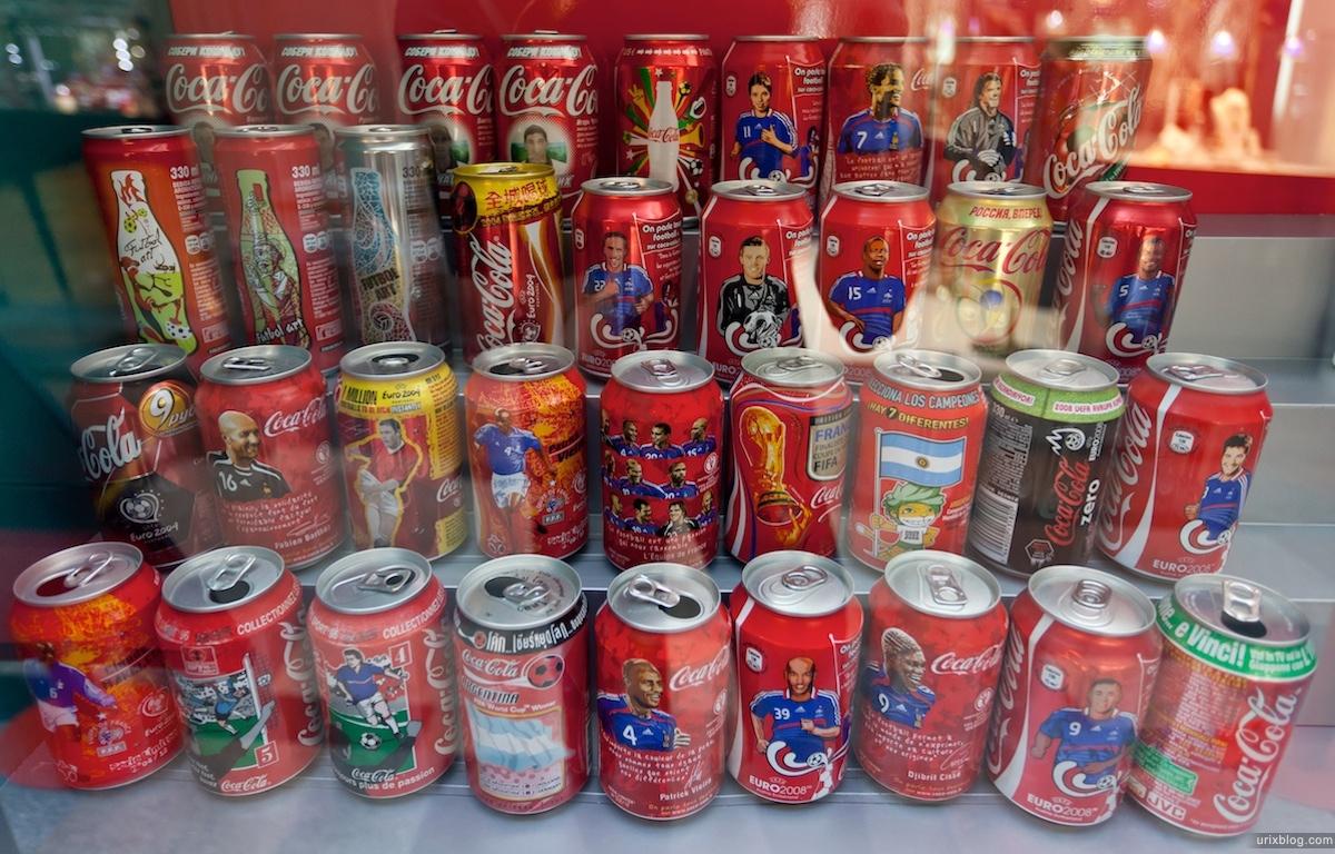 Coca-Cola, GUM, ГУМ, выставка, Кока-Кола Москва 2011 Moscow
