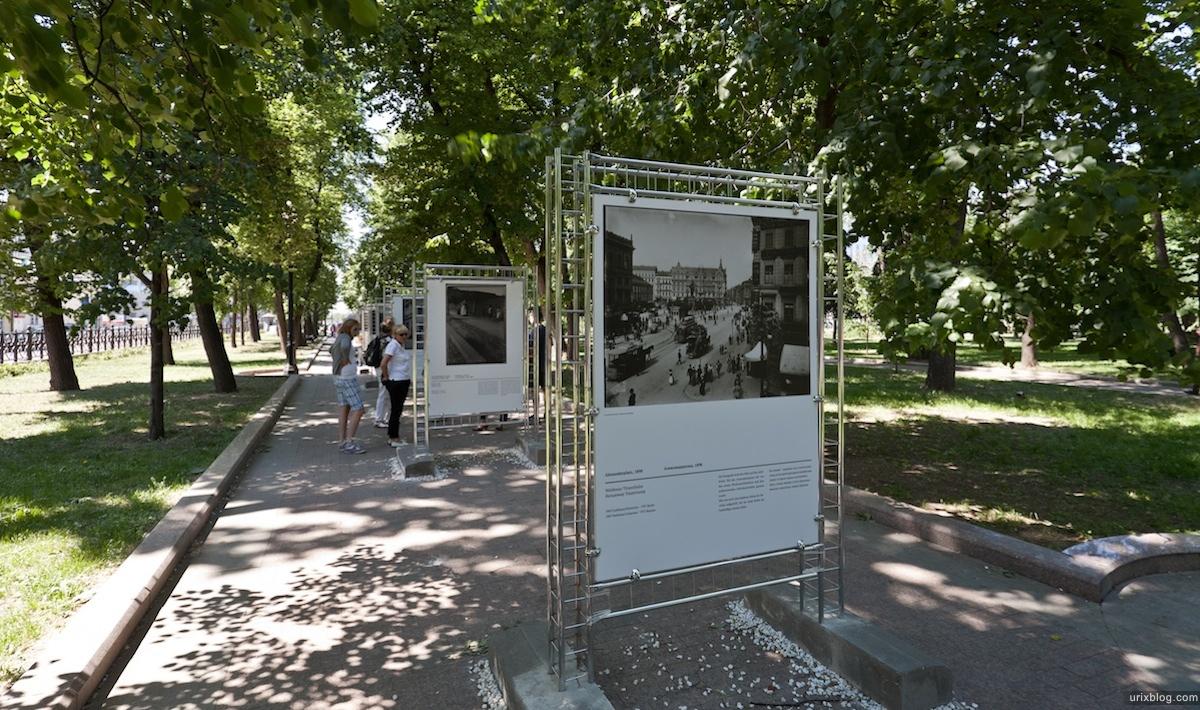 Berlin Moscow exhibition, Москва Берлин выставка, Страстной бульвар 2011