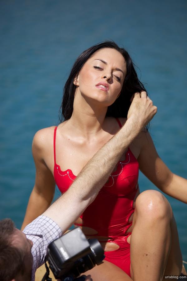 Москва, Люберецкие карьеры, модели, девушки фотосессия бикини купальник