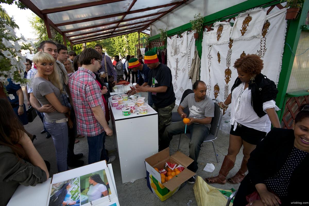 фестиваль еды, сад Эрмитаж, москва, 2011