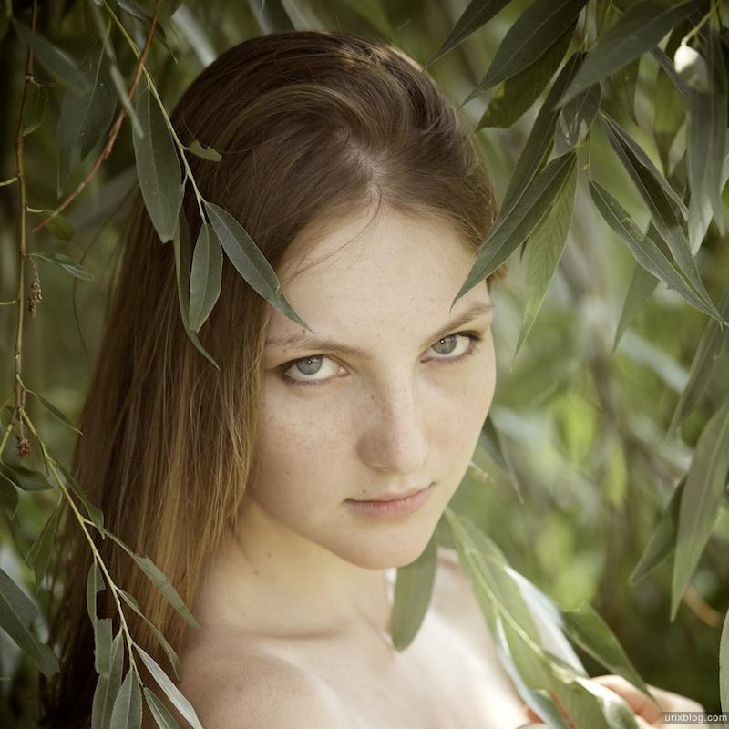 2011 Москва, Головинские пруды, Голубинский Юрий, модель Марина