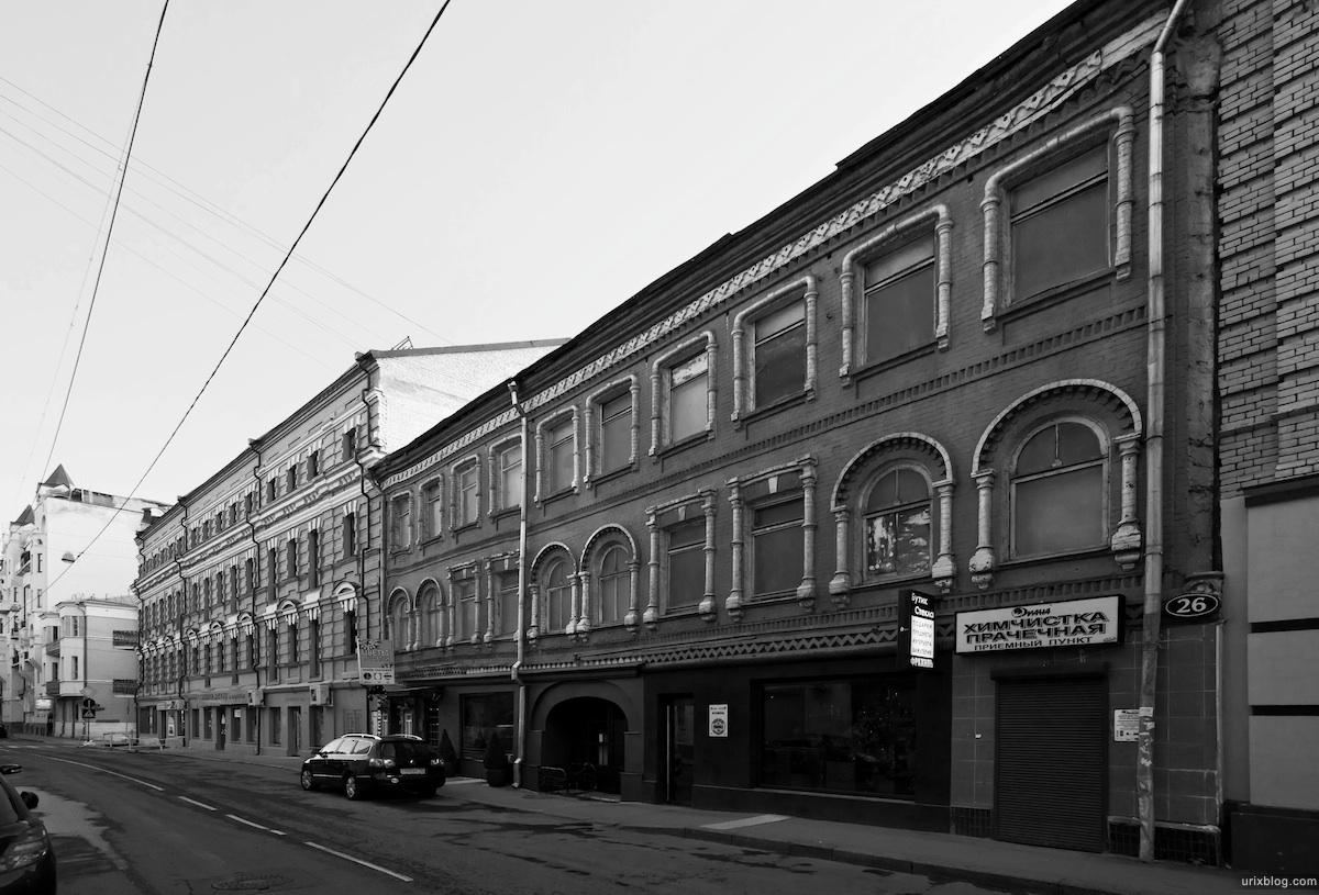 район Патриаршие пруды, москва, 2011