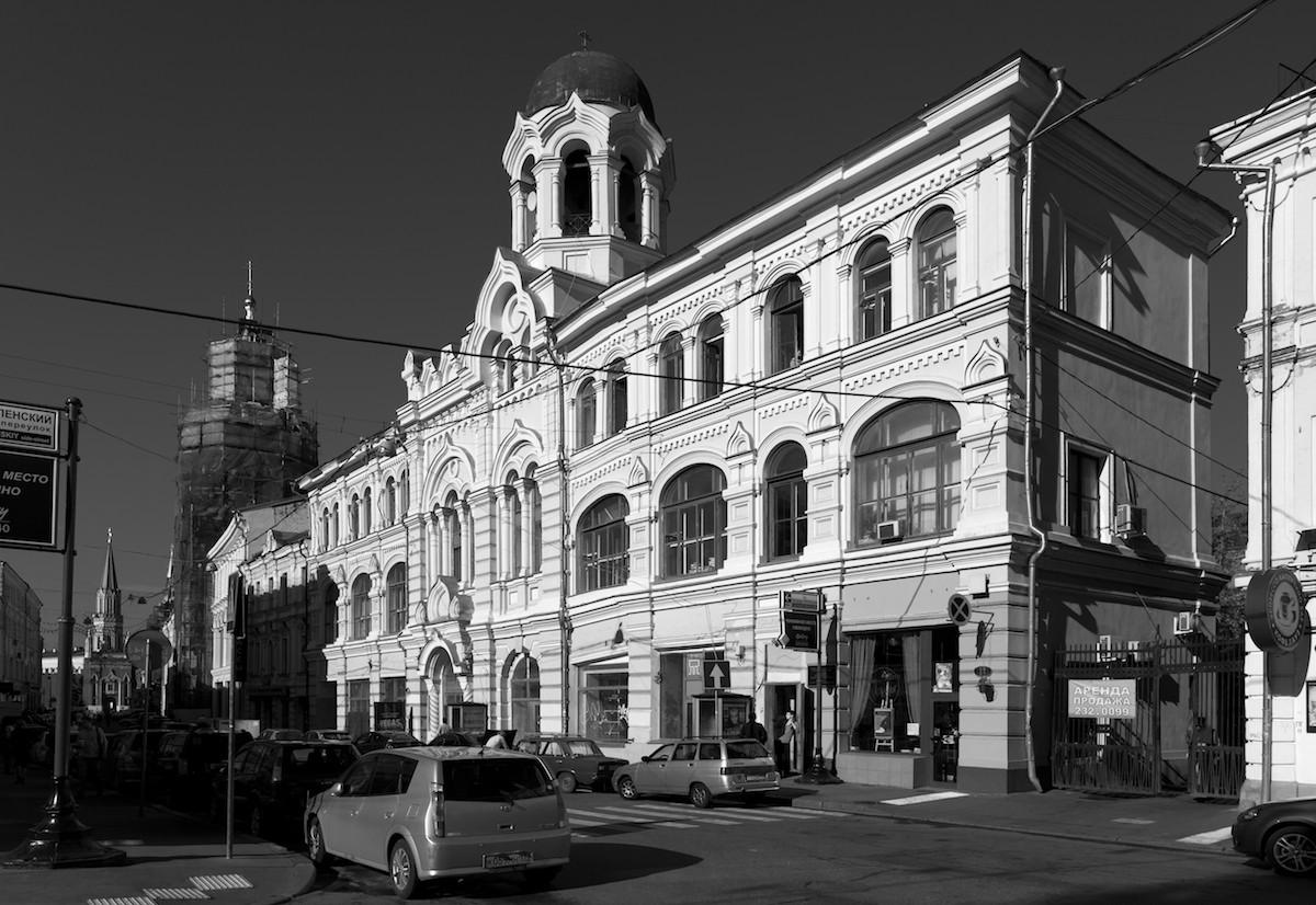 2011 Москва Никольская улица