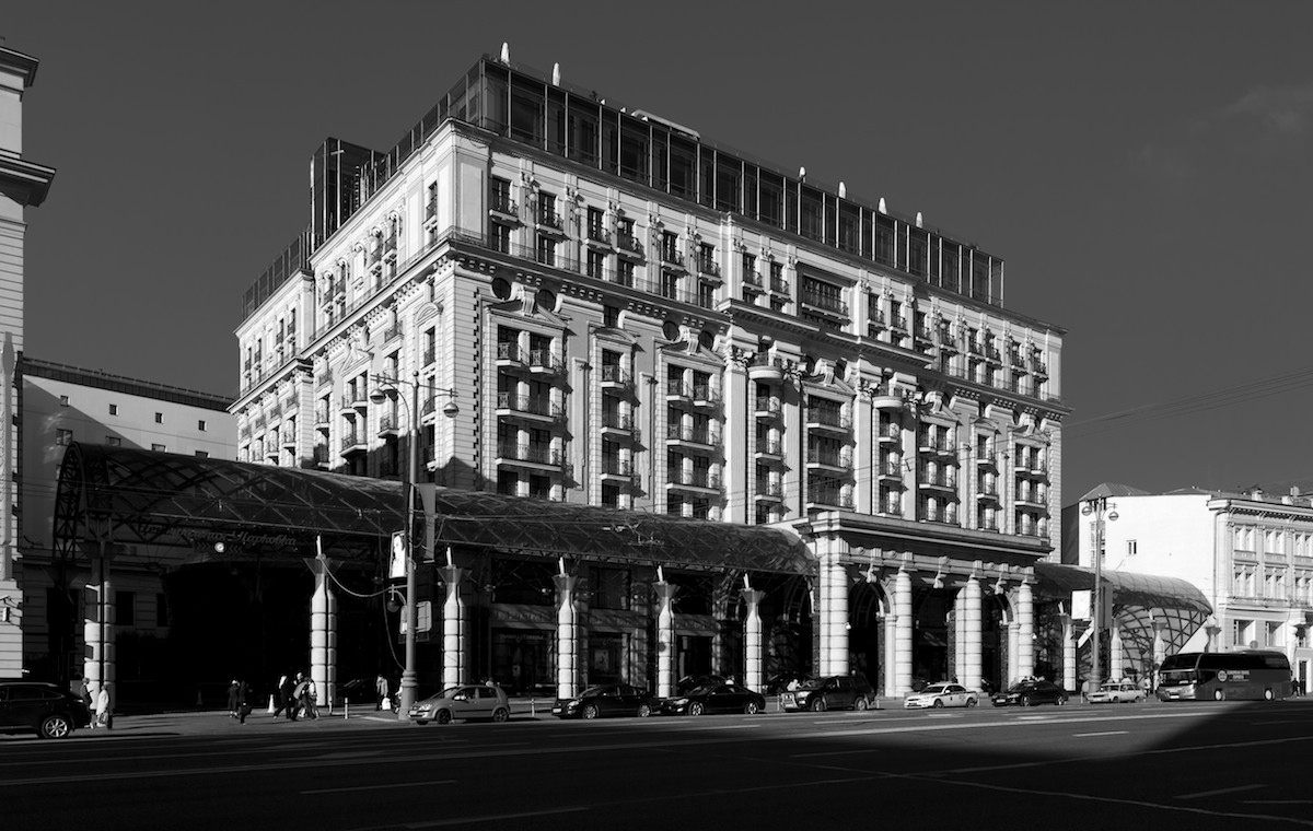 2011 Москва Тверская Гостиница Ритц-Карлтон-Москва