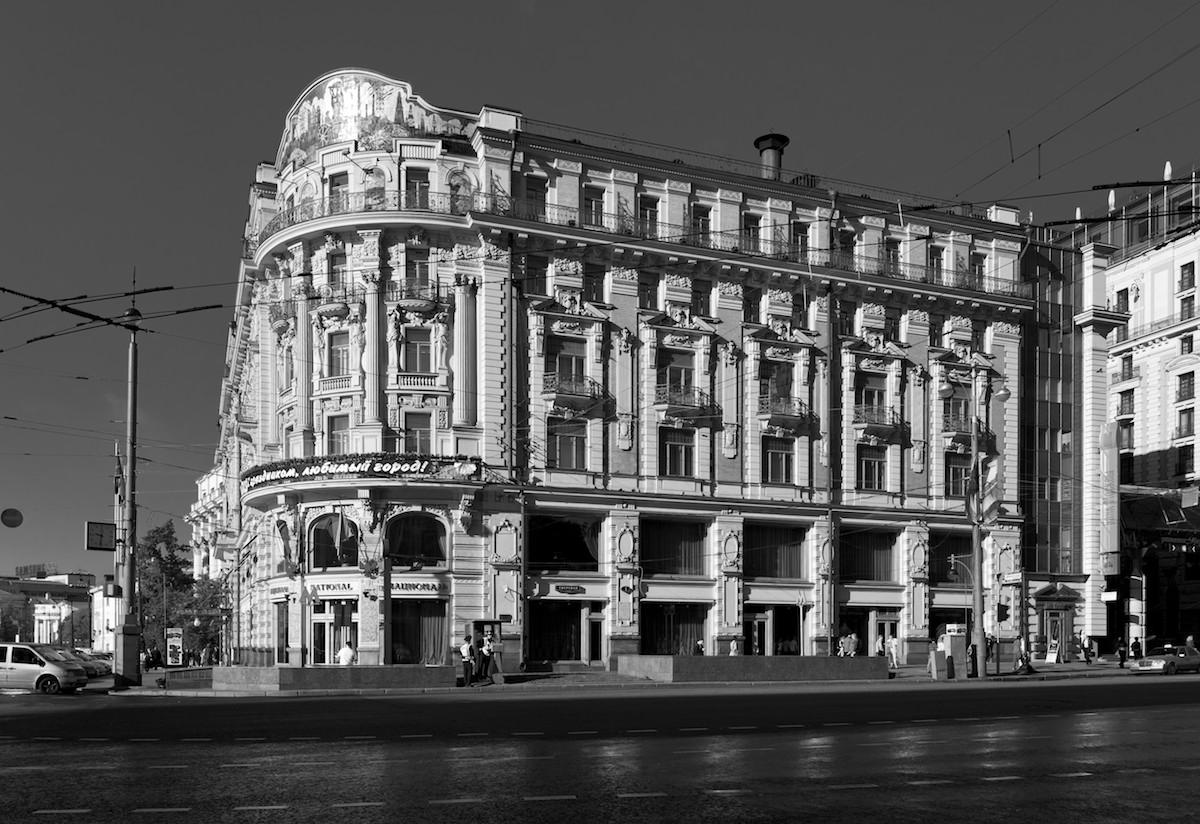 2011 Москва Тверская Гостиница Националь