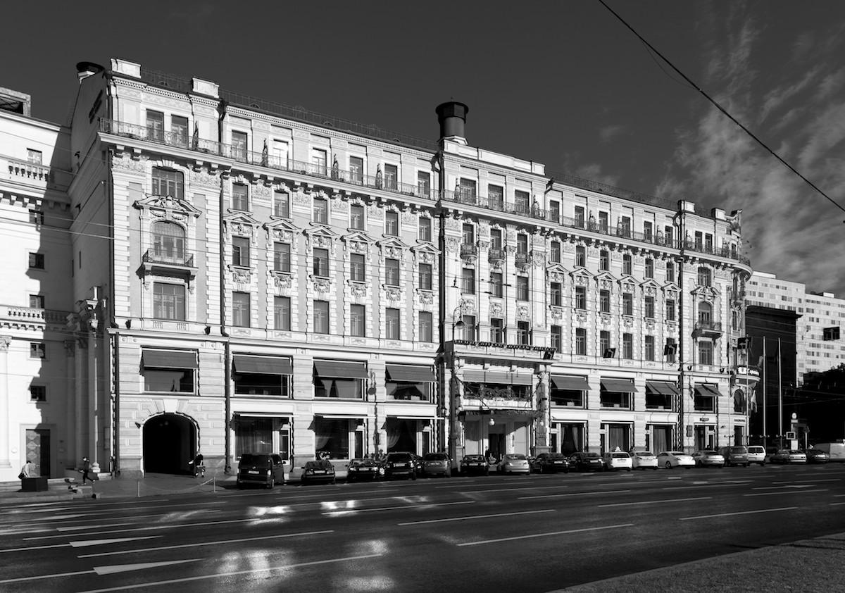 2011 Москва Манежная площадь Гостиница Националь