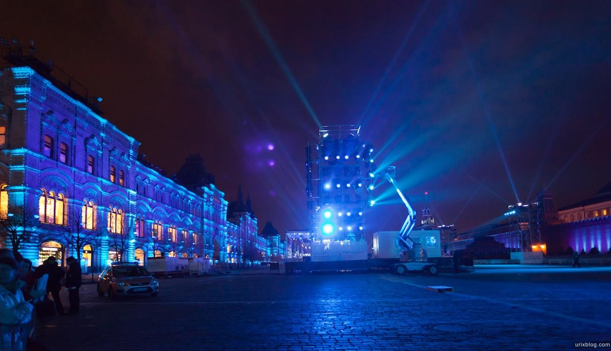2011 Москва, Красная площадь, Исторический музей, Moscow, Red Square, Круг Света