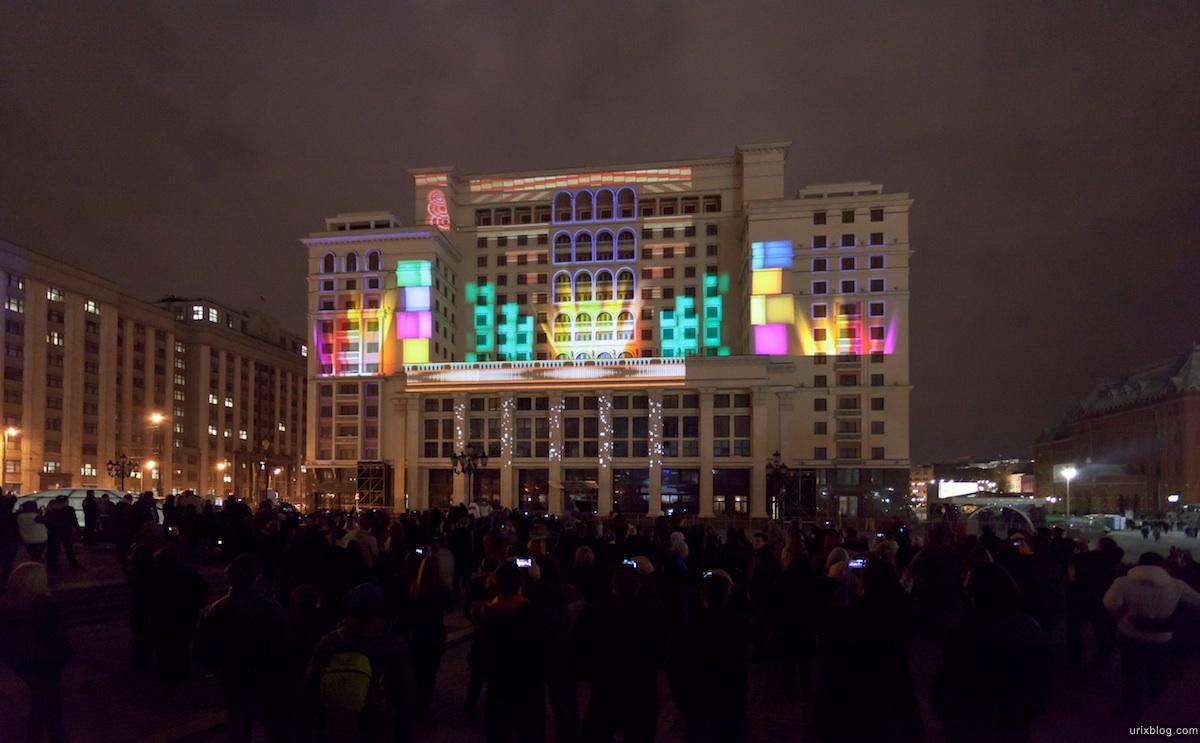 2011 Световое шоу, Манежная площадь, фестиваль Круг Света