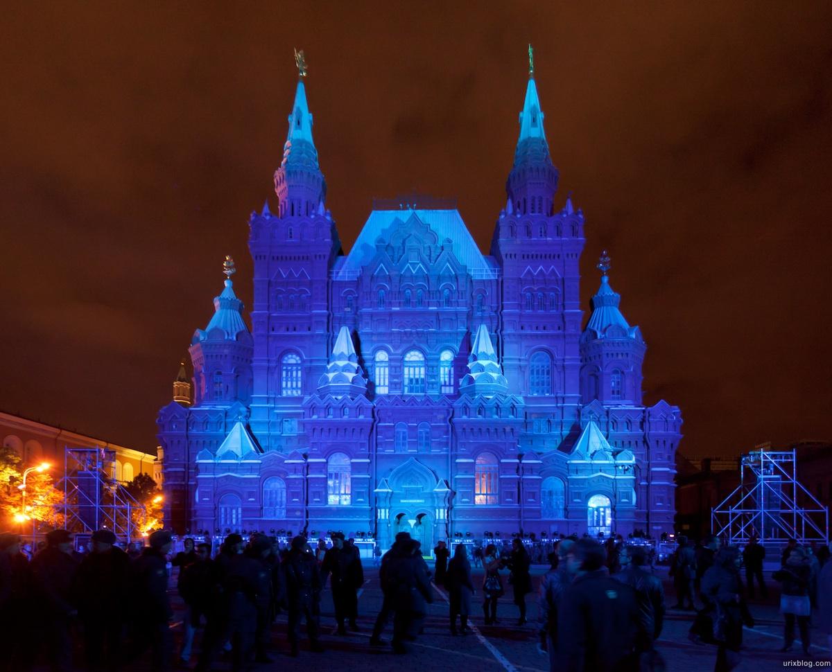 2011 Световое шоу, Красная площадь, фестиваль Круг Света