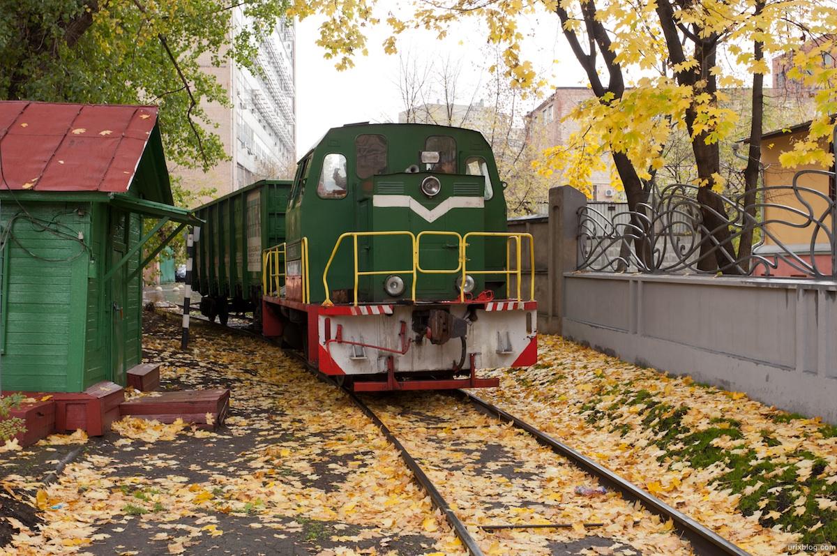 Moscow, Москва, поезд тепловоз, Электрозавод
