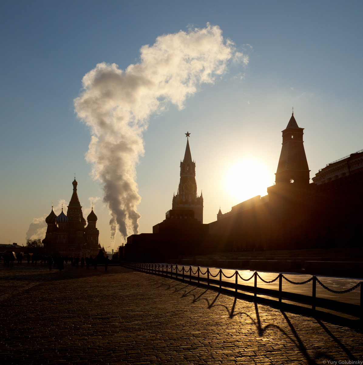 Red Square, morning, Moscow, Russia, 2011