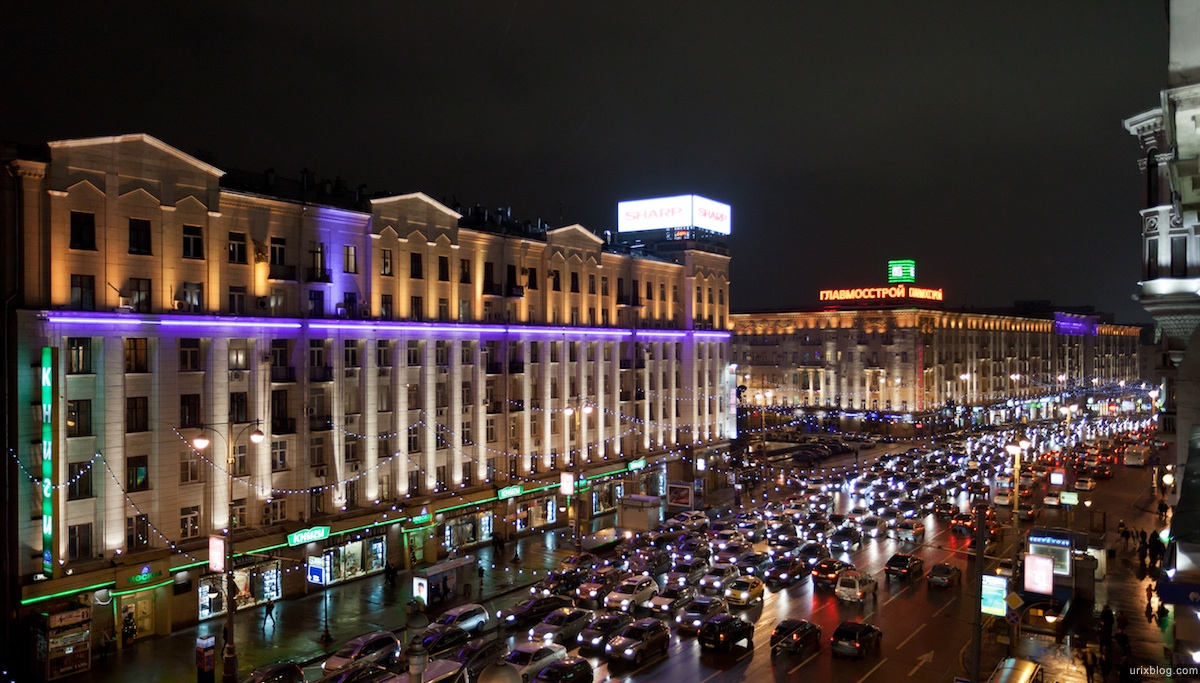 2011 Москва, пробки