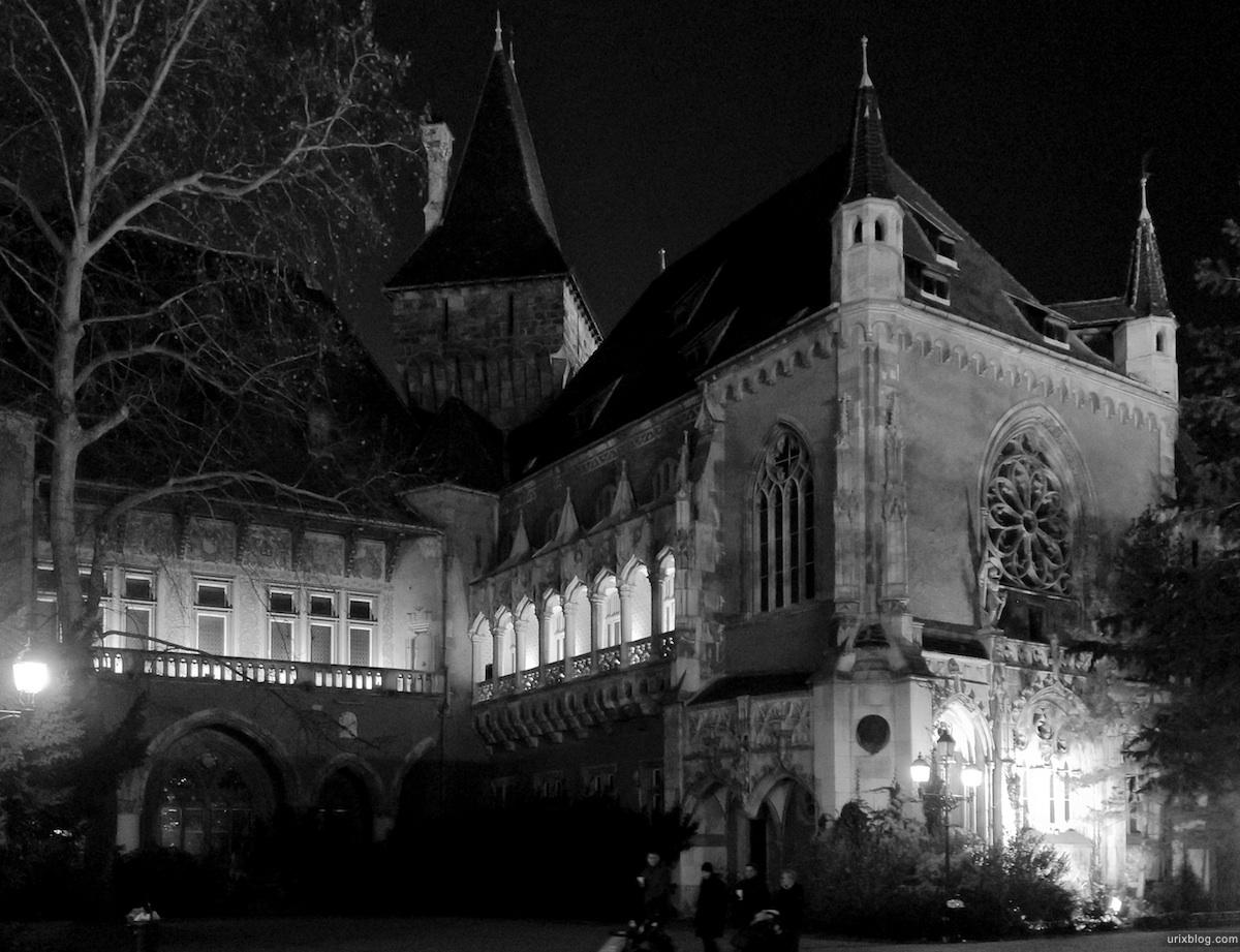 2011 Венгрия Будапешт Budapest Hungary замок Вайдахуняд