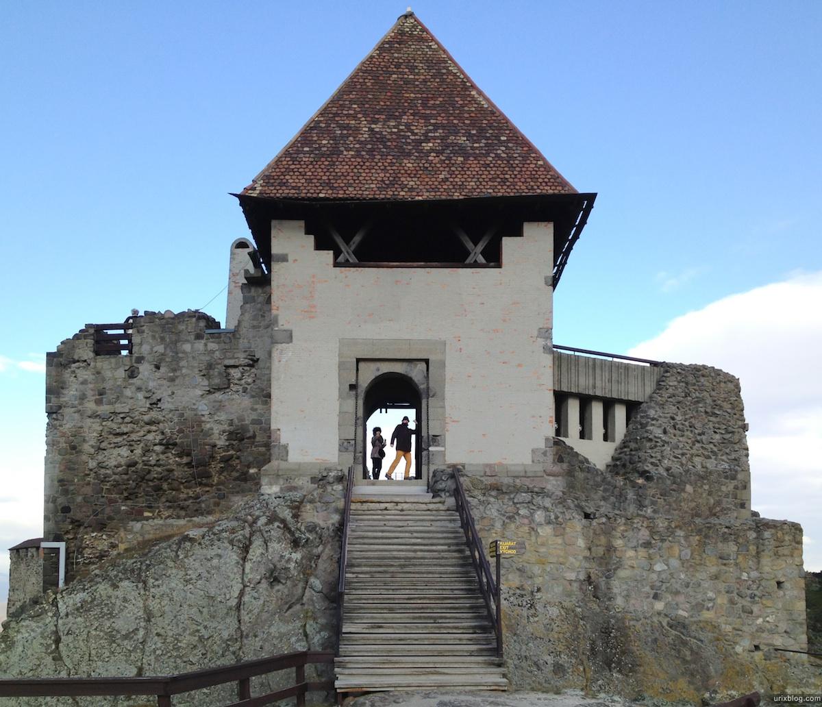2011 Венгрия замок в Вышеграде