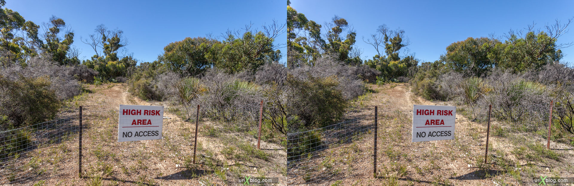Flinders Chase National Park, Kangaroo Island, Australia, 3D, stereo pair, cross-eyed, crossview, cross view stereo pair, stereoscopic, 2011