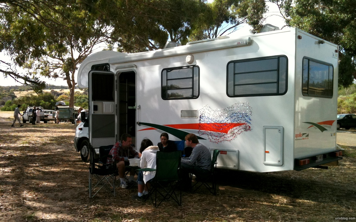 2011 2010 South Australia, Kangaroo Island, Остров Кенгуру, Южная Австралия, Penneshaw, кемпинг, машина, camping, car