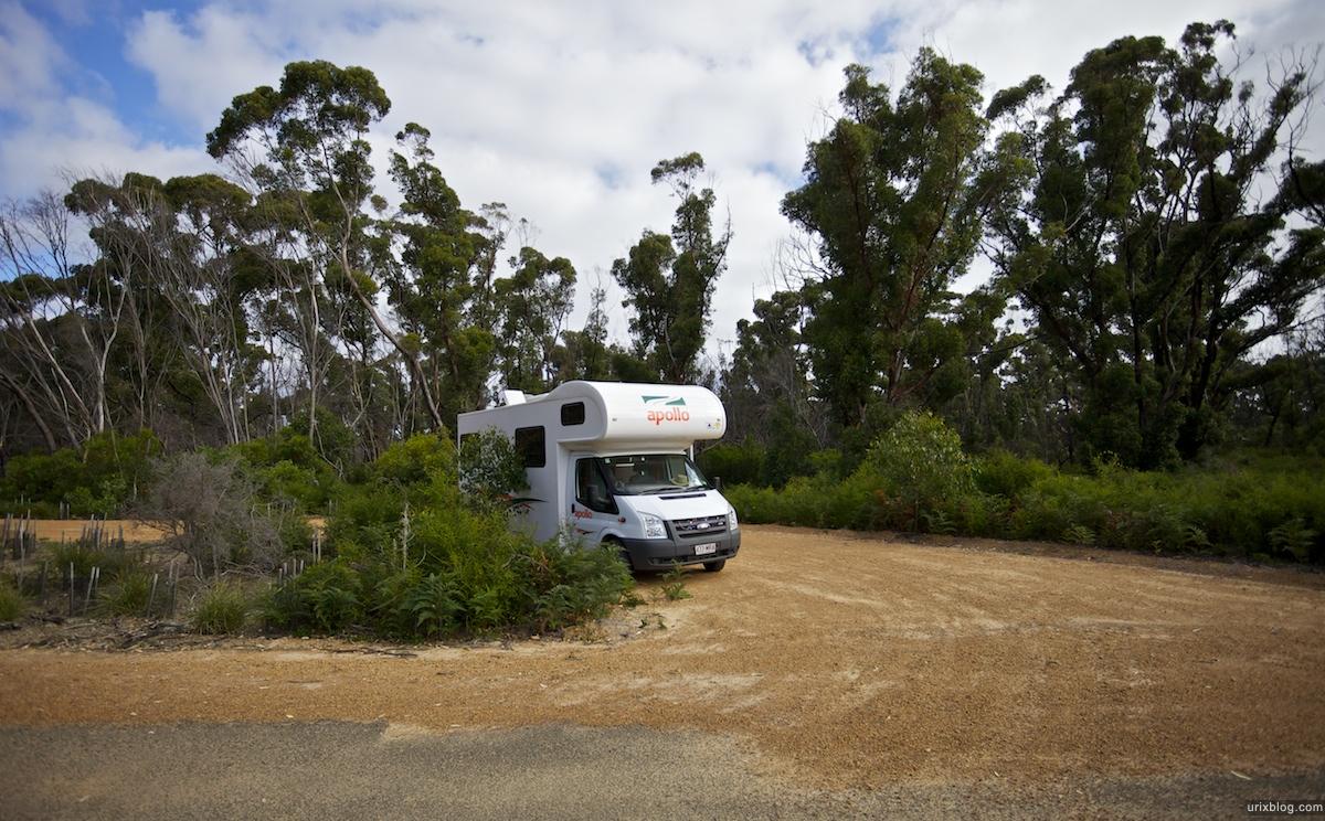 2011 2010 South Australia, Kangaroo Island, Остров Кенгуру, Южная Австралия, Flinders Chase, kamping, кемпинг, car, машина