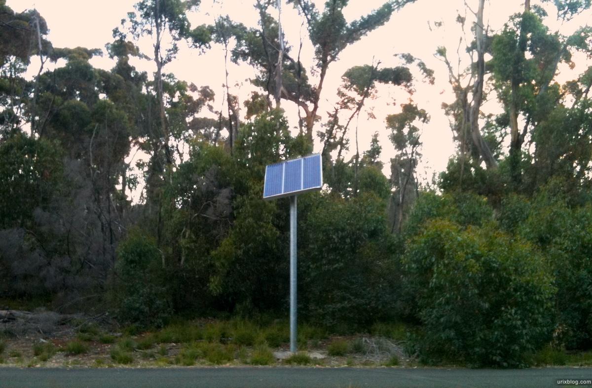 2011 2010 South Australia, Kangaroo Island, Остров Кенгуру, Южная Австралия, Flinders Chase, kamping, кемпинг, солнечная батарея