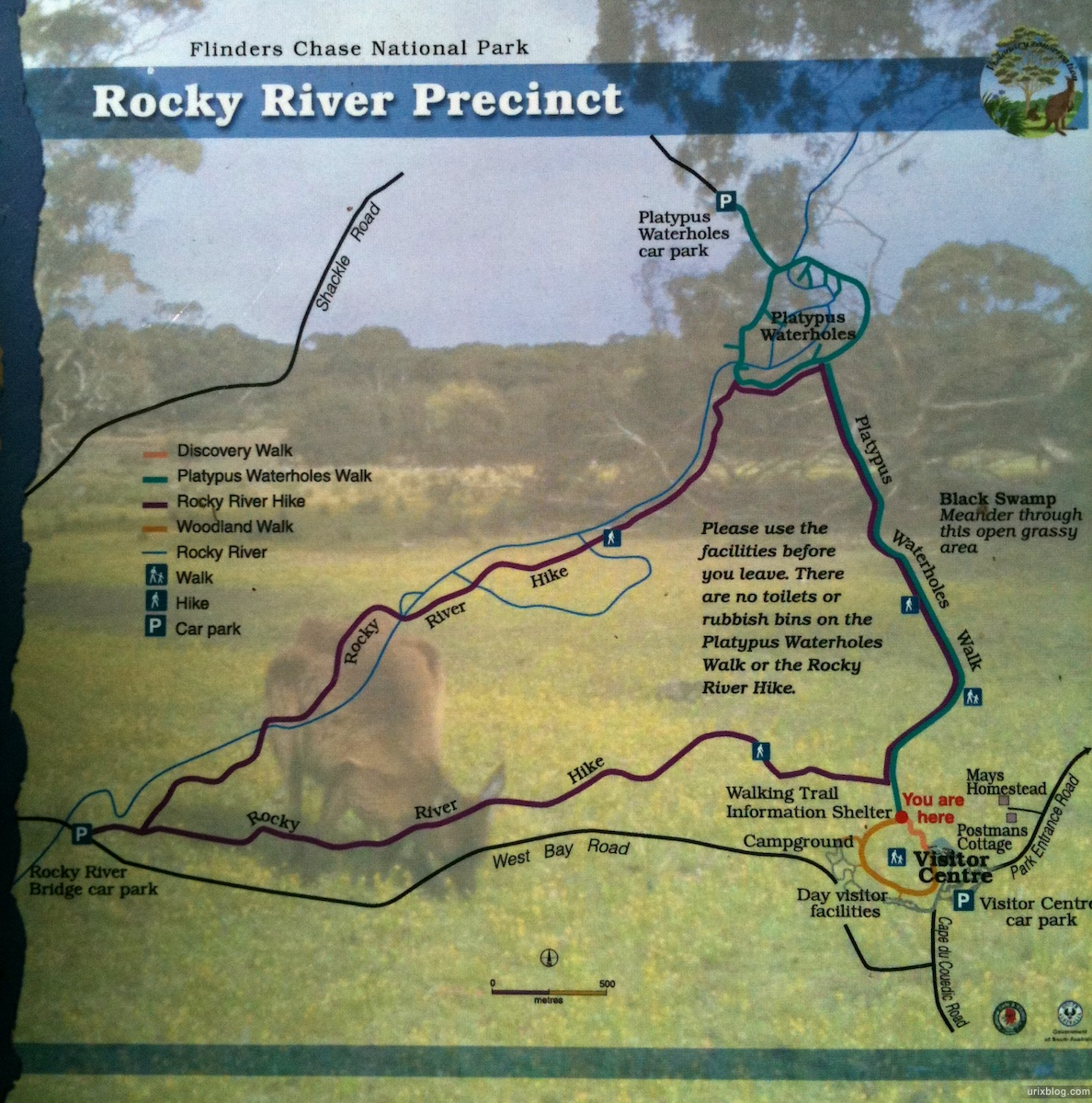 2011 South Australia, Kangaroo Island, Остров Кенгуру, Южная Австралия, Flinders Chase, Platypus Waterholes and Rocky River Hike