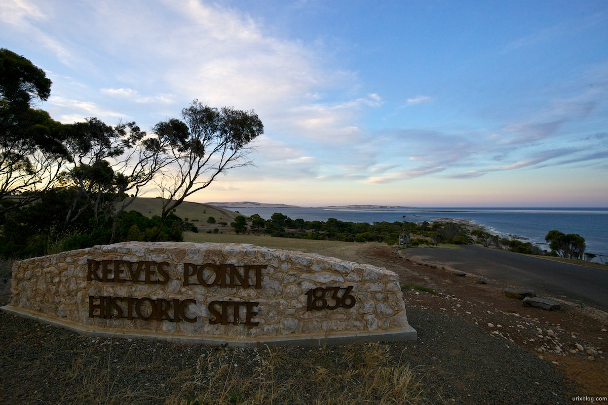 2011 South Australia, Kangaroo Island, Остров Кенгуру, Южная Австралия, Kingscote, Reever Point