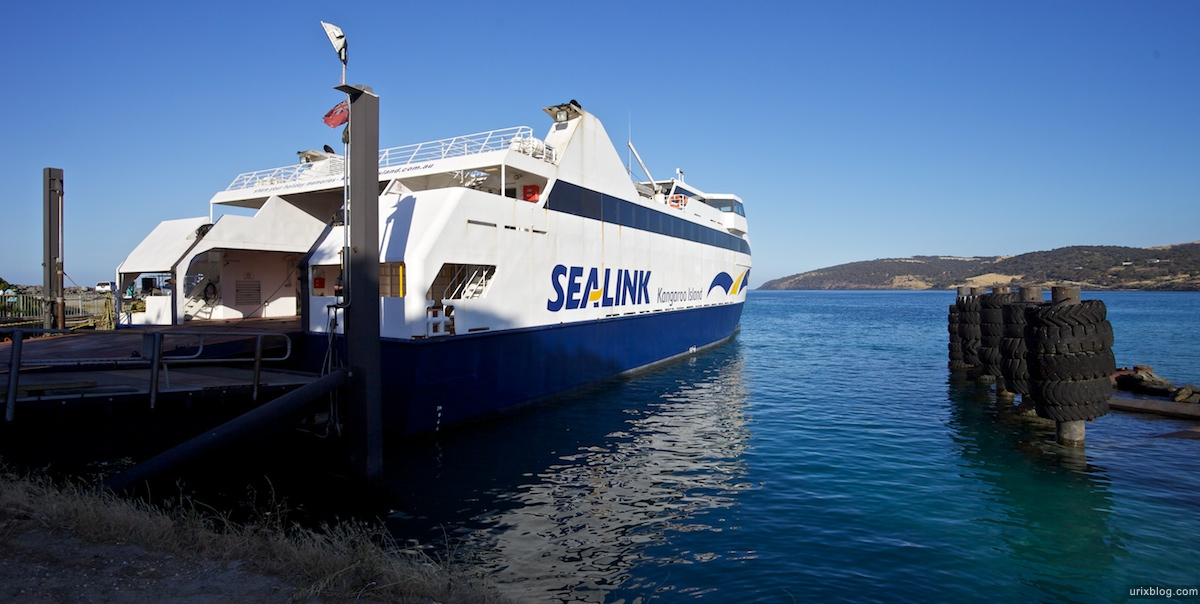2011 2010 South Australia, Kangaroo Island, Остров Кенгуру, Южная Австралия, Penneshaw, ferry, паром