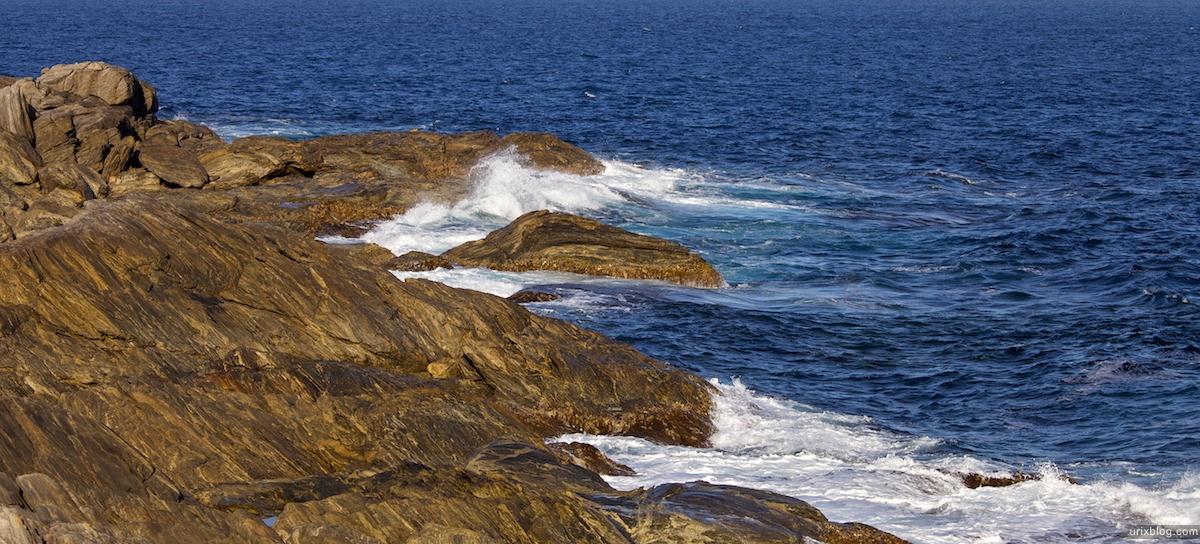 2011 2010 South Australia, Kangaroo Island, Остров Кенгуру, Южная Австралия, Vivonne Bay, скалы, прибой
