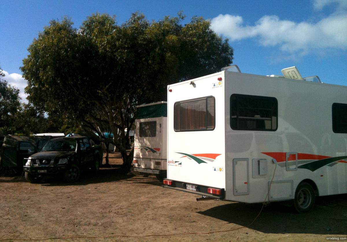 2011 2010 South Australia, Kangaroo Island, Остров Кенгуру, Южная Австралия, Vivonne Bay, car, camping, машина, кемпинг