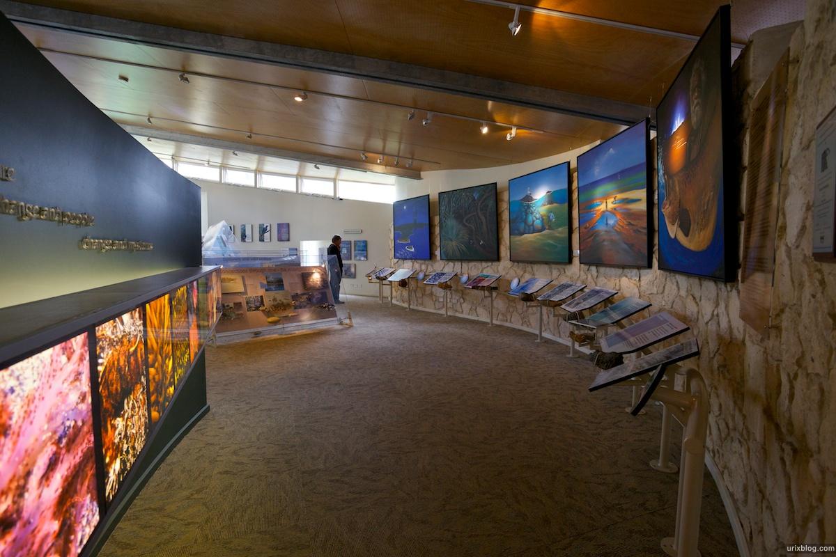 2011 2010 South Australia, Kangaroo Island, Остров Кенгуру, Южная Австралия, Flinders Chase, Information Centre, museum, музей