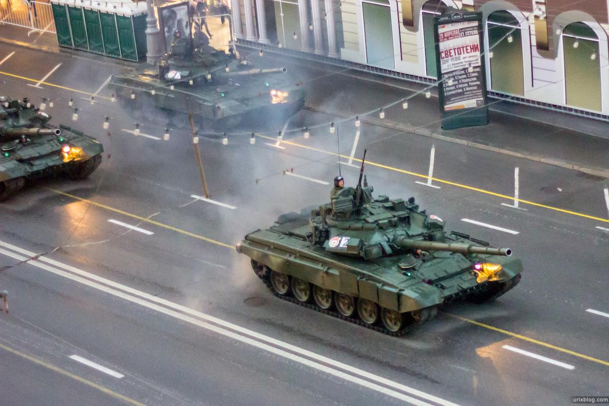 2012 Москва парад репетиция Тверская