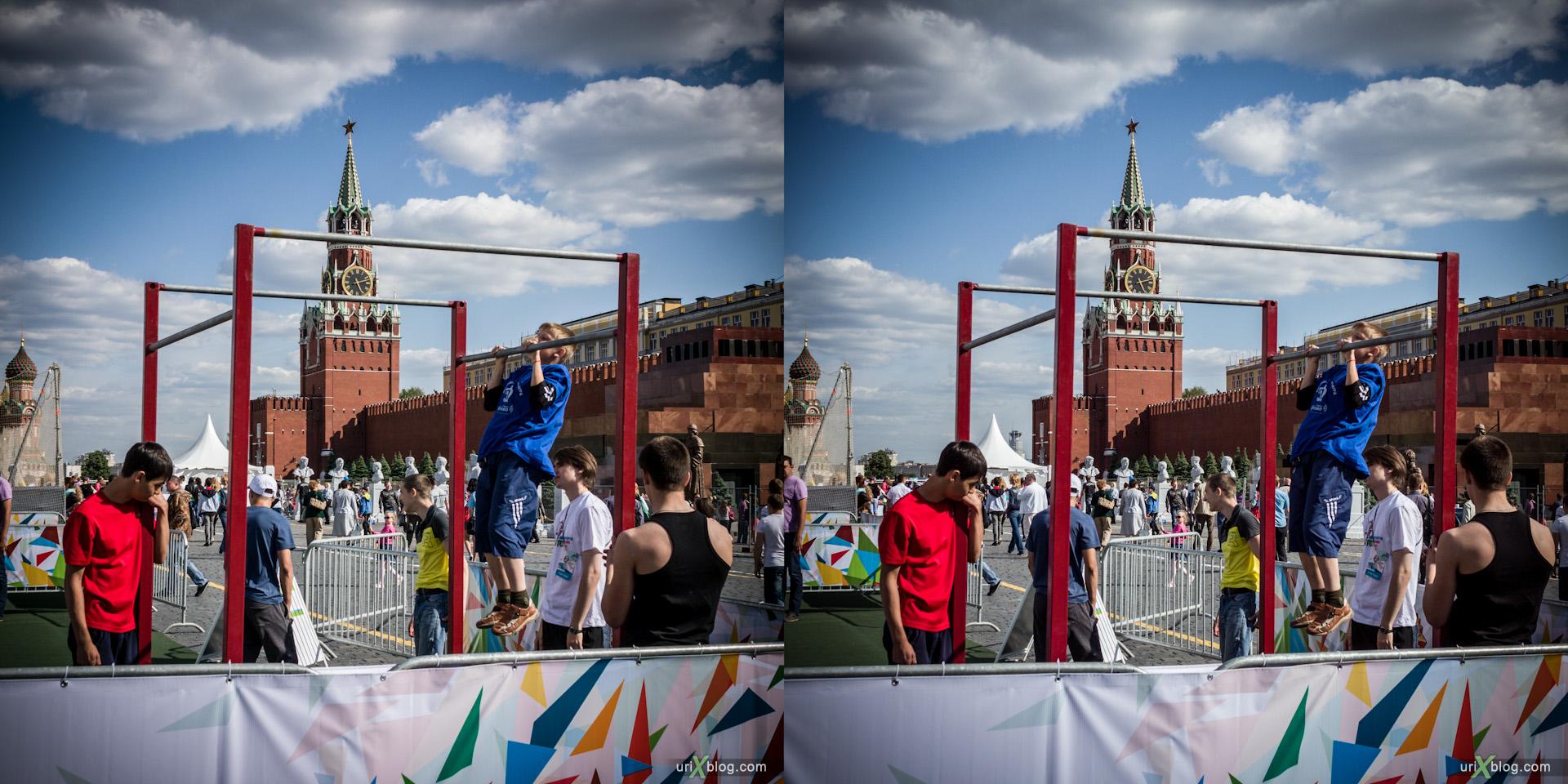 2012 Москва военно-спортивный форум крсаная площадь стерео 3д stereo 3d