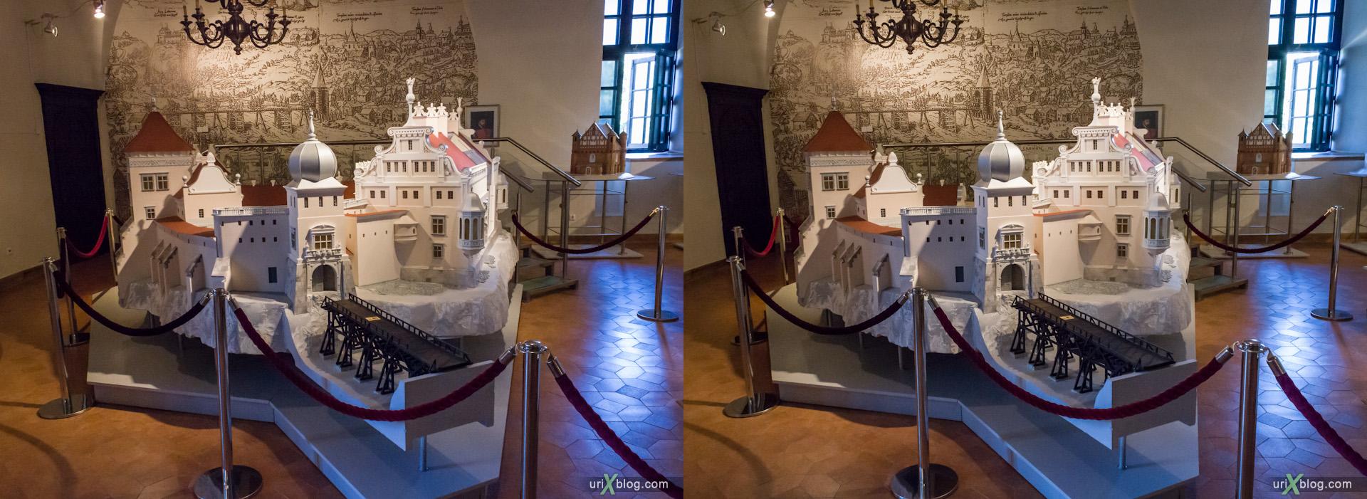 2012 Мирский замок Minsk Минск Белоруссия, Беларусь Belarus Belorussia стерео 3д stereo 3d