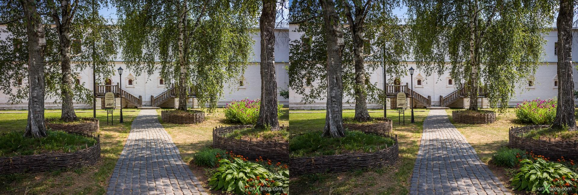 2012 Суздаль Владимирская область Спасо-Евфимиев монастырь, 3D, stereo, cross-eyed, стерео, стереопара Canon 600D