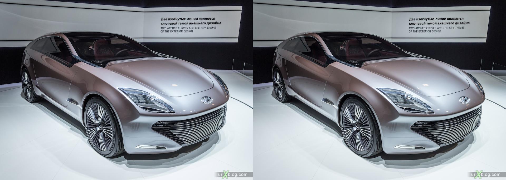 2012, Hyundai, Московский международный автомобильный салон, ММАС, Крокус Экспо, 3D, стереопара