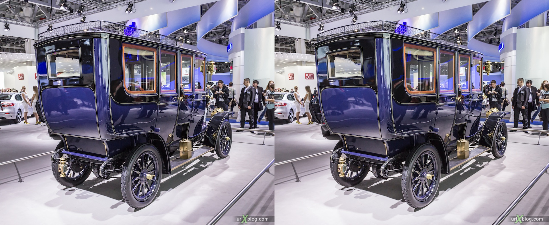 2012, Renault 1907 XB92, Moscow International Automobile Salon, auto show, 3D, stereo pair, cross-eyed, crossview