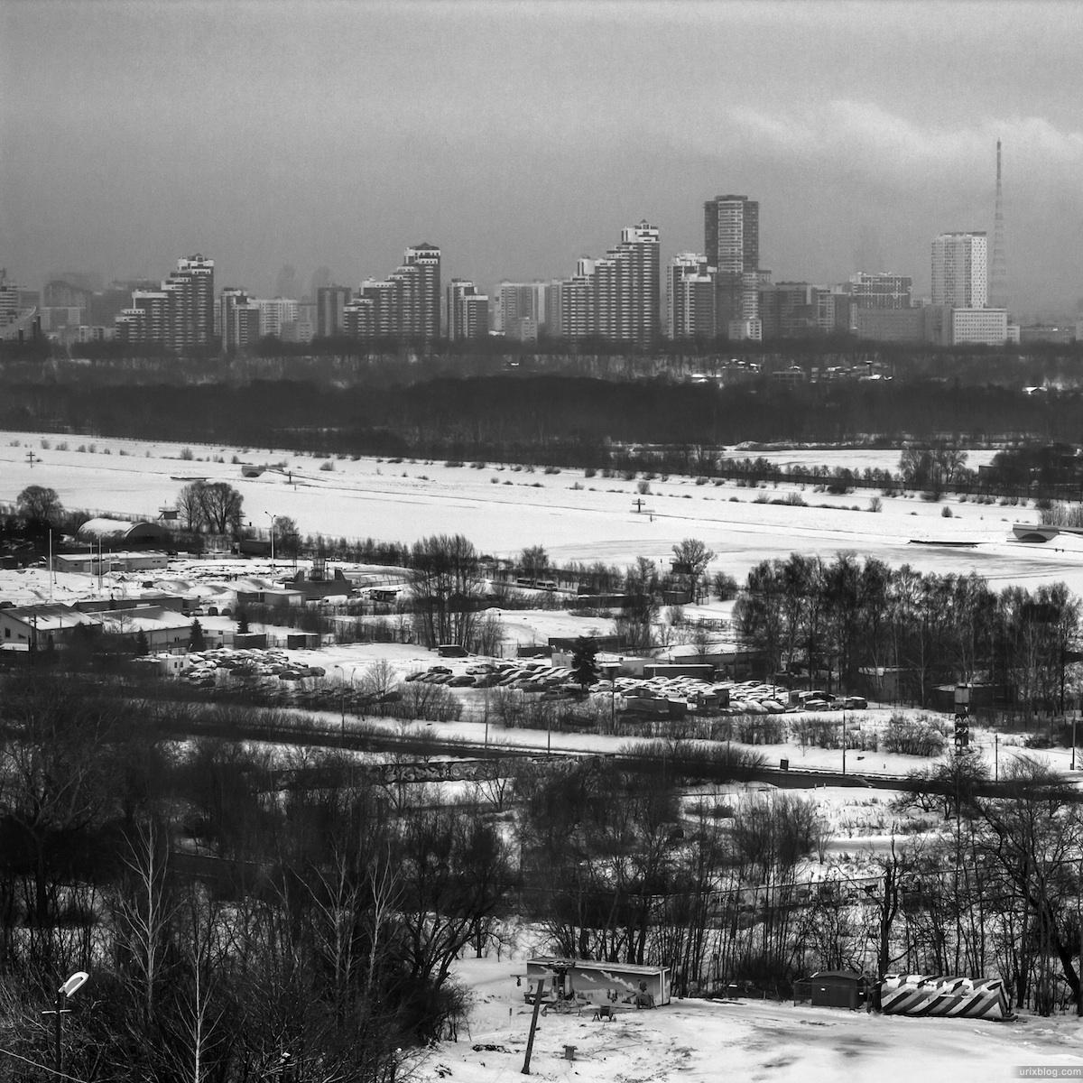 2012, Крылатские холмы, Москва, Россия, Зима, снег