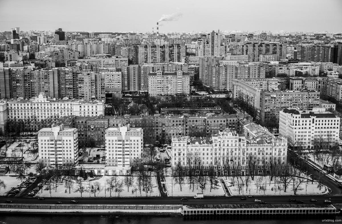 2013, Москва, Россия, чёрно белая, B/W, swissotel, Красные Холмы, пробка, машины, небо, облака