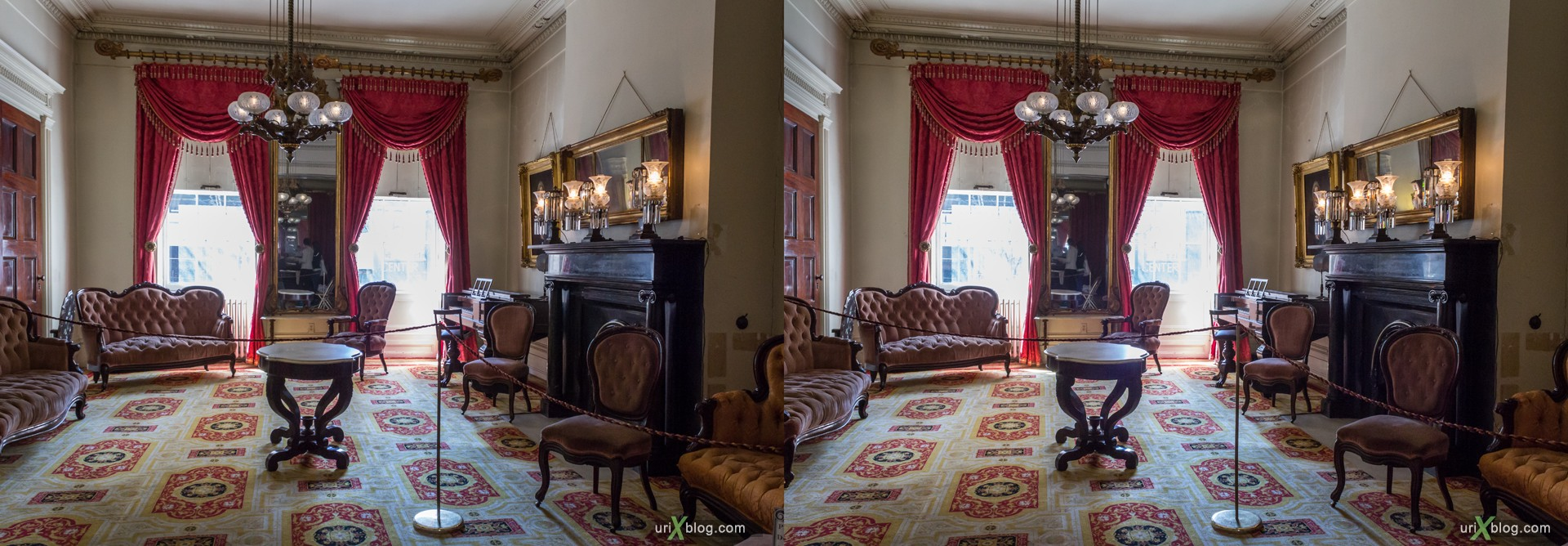 2013, Merchant's House Museum, NYC, New York City, USA, 3D, stereo pair, cross-eyed, crossview, cross view stereo pair, stereoscopic