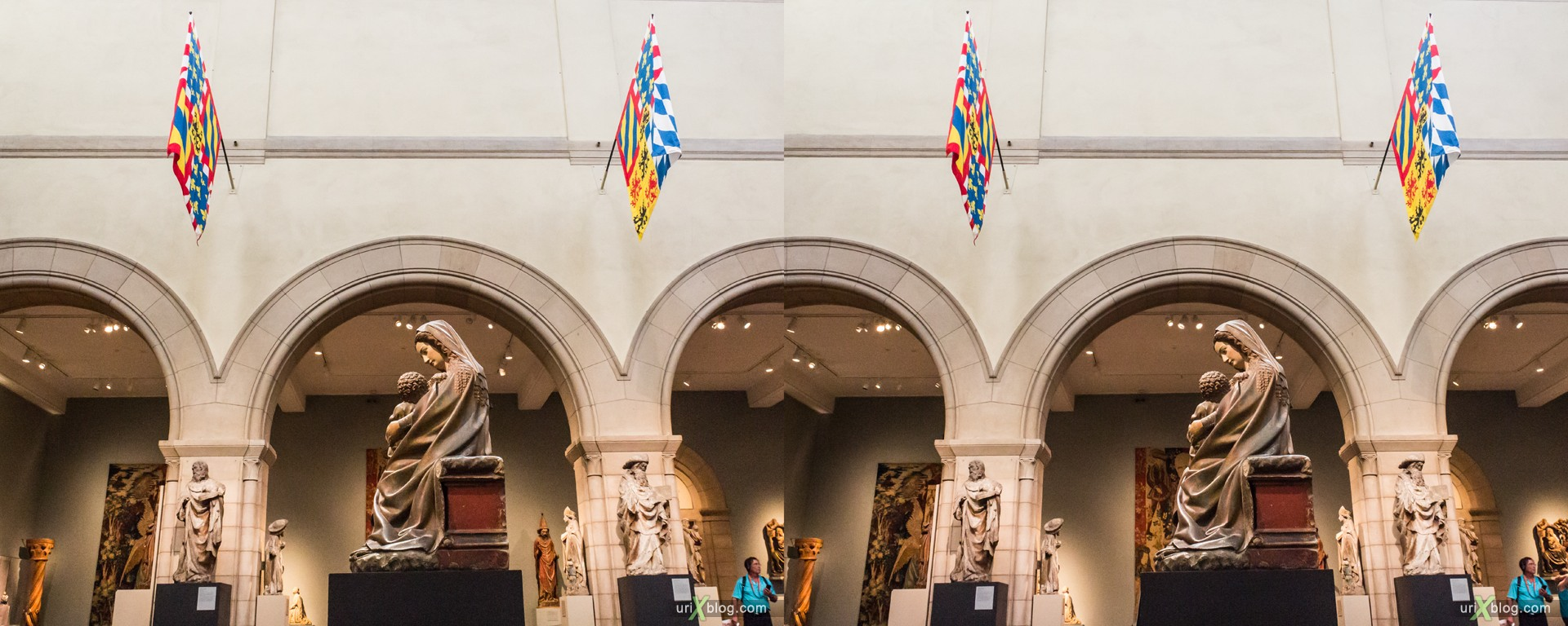 2013, Metropolitan Museum of Art, NYC, New York City, USA, 3D, stereo pair, cross-eyed, crossview, cross view stereo pair, stereoscopic