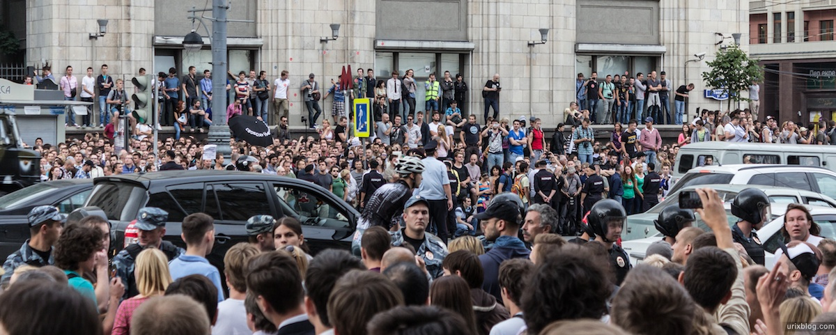 2013, Москва, Государственная Дума, Тверская, Манежная, акция, протест, Навальный